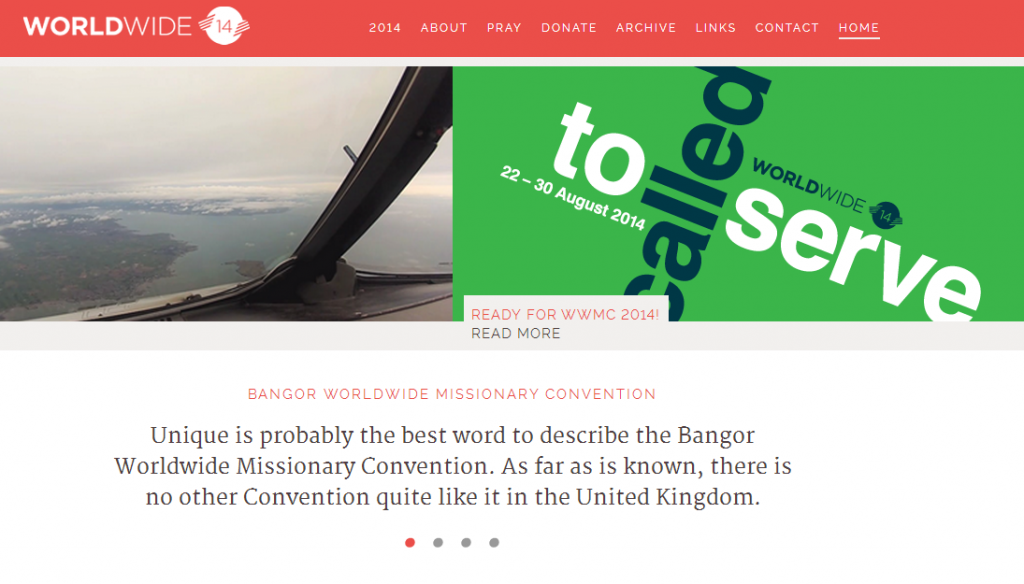 Bangor World Wide Missionary Convention 2014